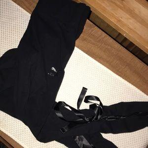 black puma bow leggings
